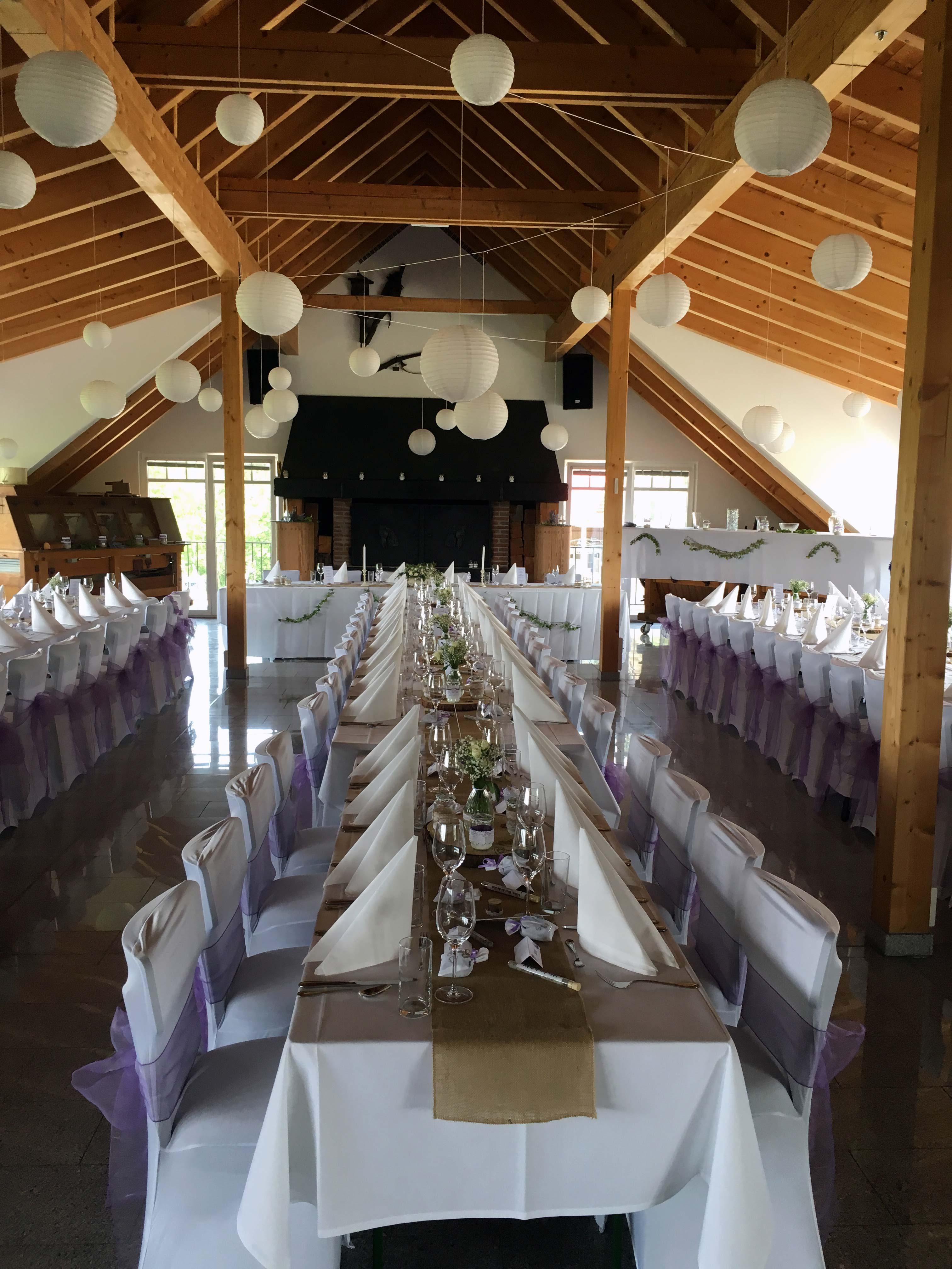 Festsaal für Ihre Hochzeit