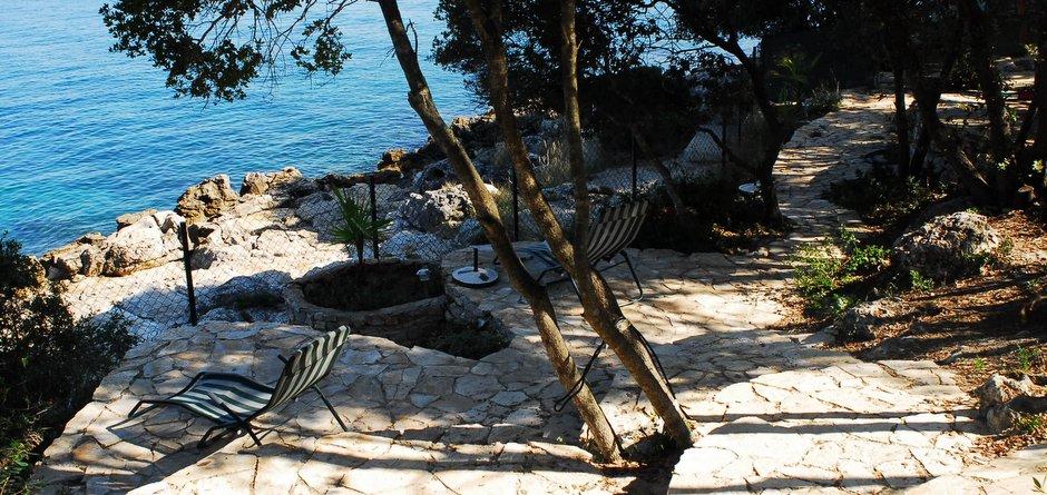 Beachclub - eigener Badestrand, direkt am Meer