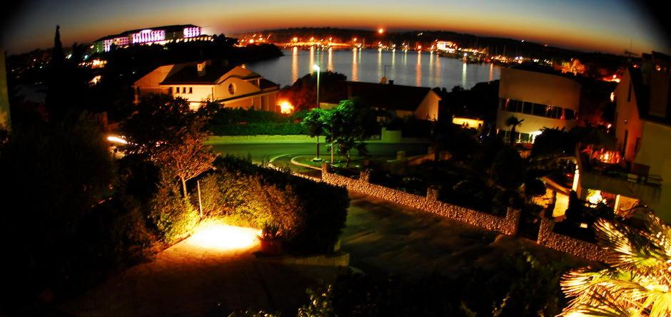 abendlicher Blick über die Bucht von Veruda